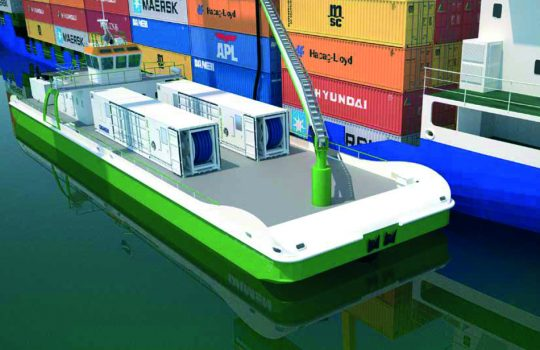 MariFlex/Damen Mobile Ballast Water Treatment