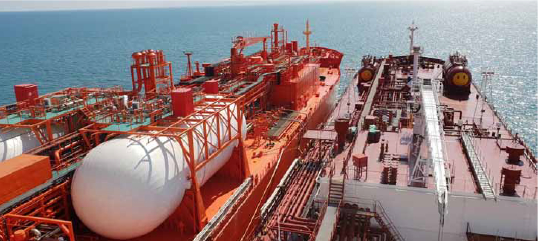 completed Ship to Ship transfer of LPG at Southwold by MariFlex