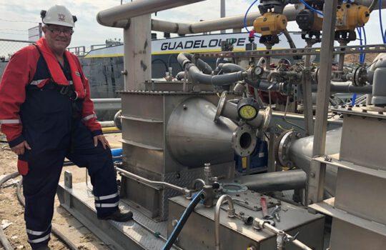 MariFlex Zevenmanshaven in Vlaardingen a degassing port?